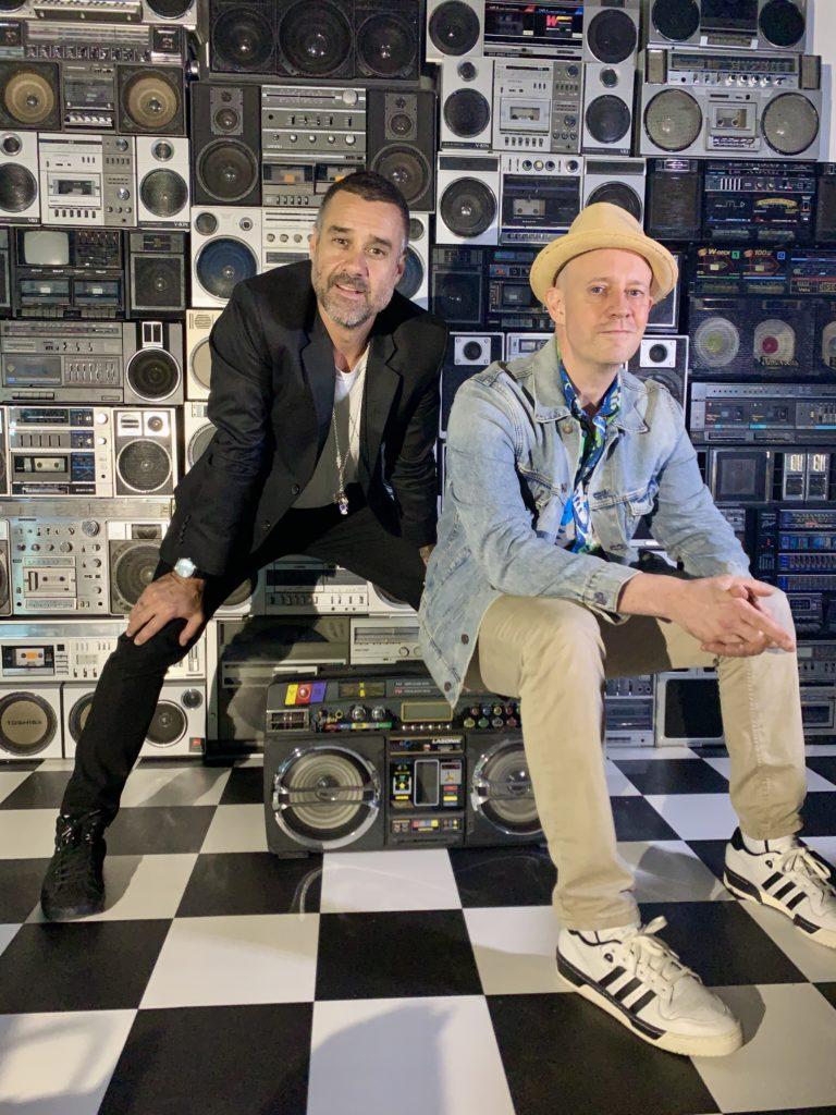 Soren Manzoni & Orlando Chico en el Manzonis Garage. Barcelona
